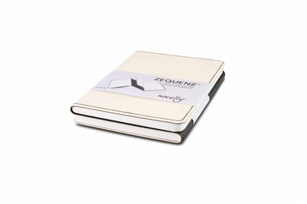 Zequenz Duo Notizbuch Schwarz Weiß A6