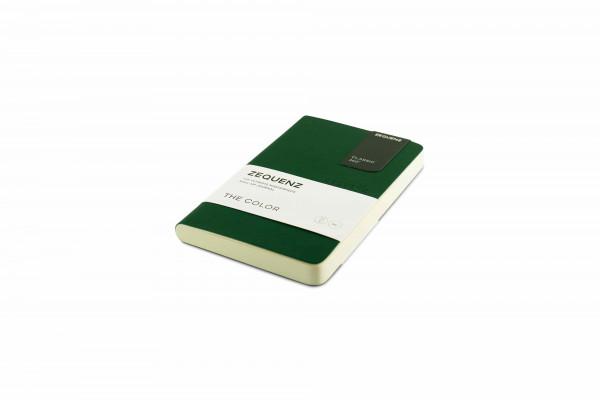 Zequenz The Color Notizbuch A6- Smaragdgrün