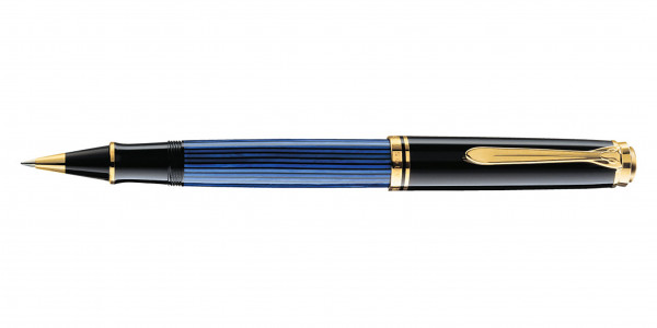 Pelikan Souverän 400 Tintenroller Schwarz Blau