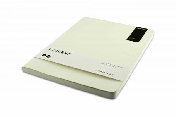 Zequenz Signature Lite 360 Notizbuch B5 Weiß