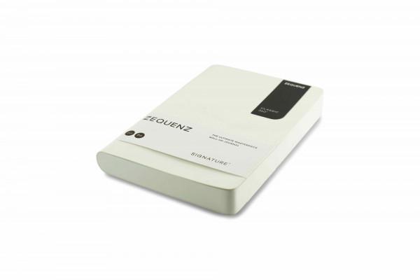 Zequenz Signature Classic 360 Notizbuch B6 Weiß