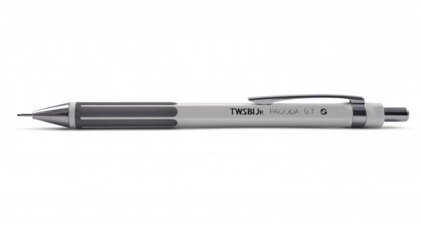 TWSBI JR PAGODA Druckbleistift 0,7 mm Weiß