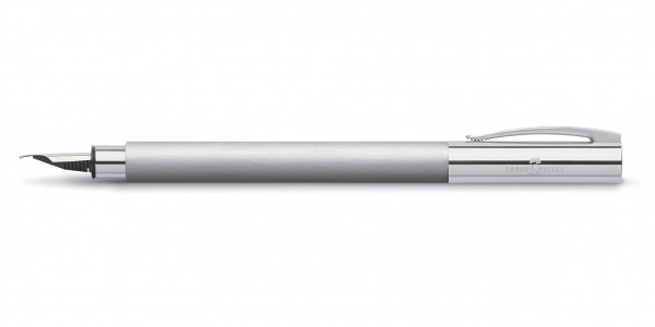 Faber-Castell Fountain pen AMBITION stainless steel