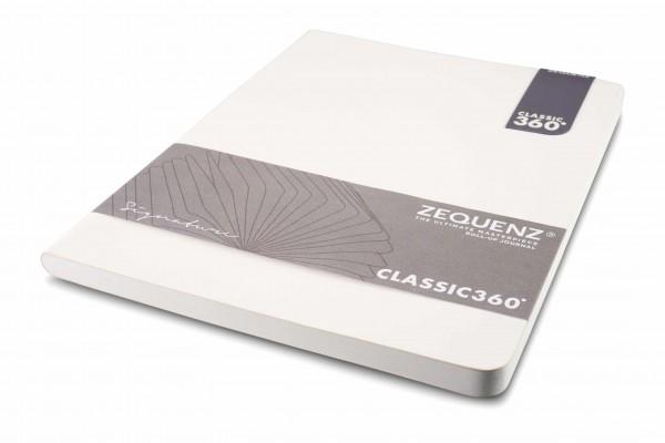 Zequenz Signature Notizbuch 360 Weiß B5 Lite