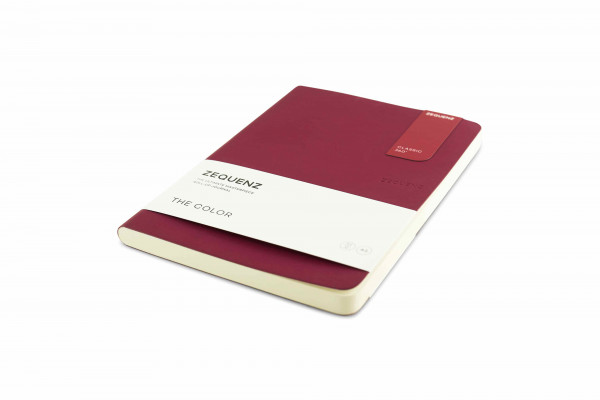 Zequenz The Color Notizbuch A5 Beeren Bordeaux