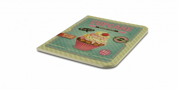 The Container Retro Notizbuch Cupcake Love