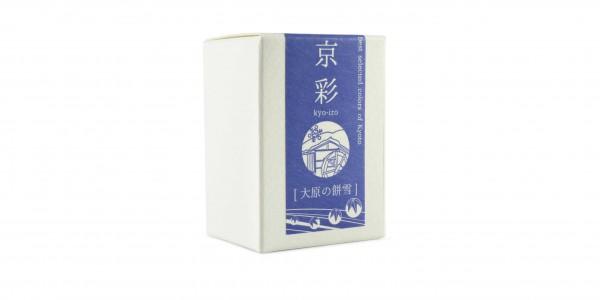 Kyo-Iro Tintenglas Weicher Schnee von Ohara Verpackung