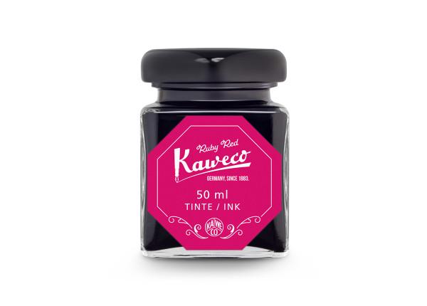 Kaweco Tintenglas Rubin Rot 50 ml