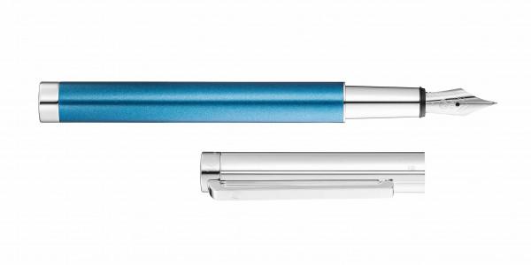 Waldmann Cosmo Füllhalter Ice Blue Stahlfeder