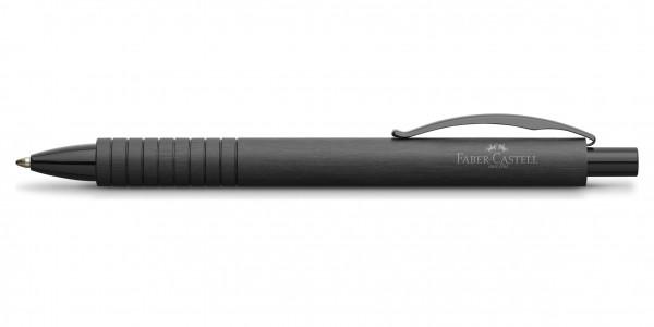 Faber-Castell Essentio Aluminium Kugelschreiber Schwarz