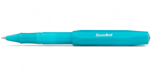 Kaweco FROSTED Sport rollerball Light Blueberry