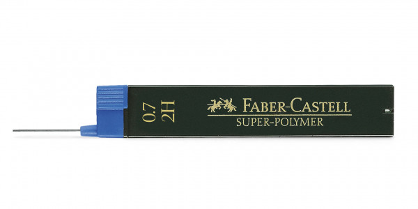Faber-Castell Fineline lead Super-Polymer 0.7mm 2H
