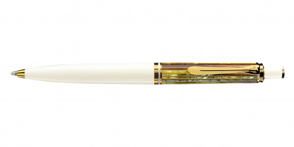 Pelikan Souverän 400 Kugelschreiber Schildpatt Weiß