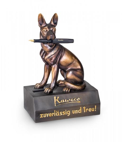 Kaweco Stiftehalter Schäferhund mit integrierter Spardose