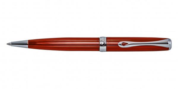 Diplomat Excellence A2 Kugelschreiber Skyline Rot