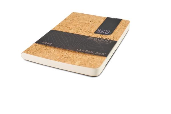 Zequenz Cork Lite Notizbuch B6 Wildstyle natural A