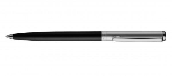 Otto Hutt Entwurf 01 Kugelschreiber Schwarz matt Ruthenium matt