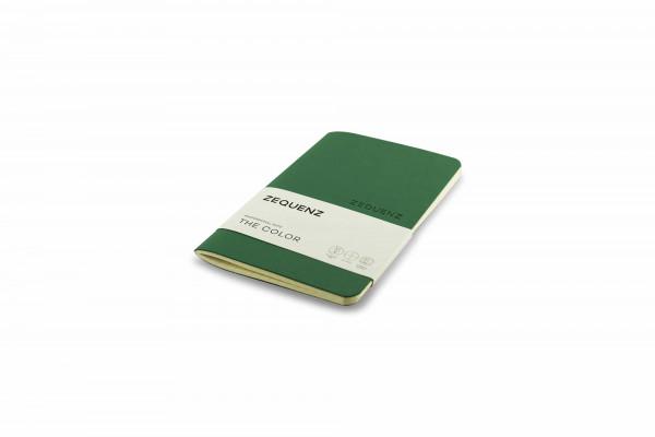 Zequenz The Color Notizbuch Professional Note Jadegrün