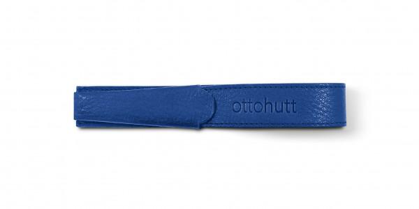 Otto Hutt Leder Etui Blau für 1 Schreibgerät