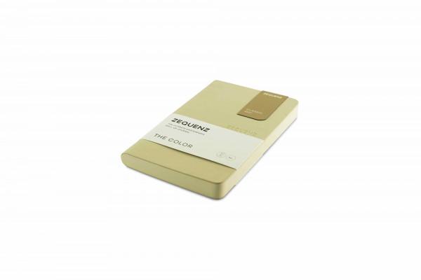 Zequenz The Color Notizbuch A6- Beige Braun