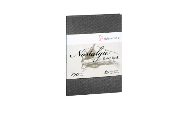 Hahnemühle NOSTALGIE Notizbuch Porträtformat A6
