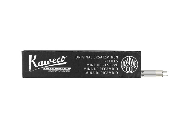 Kaweco ballpen refills D1 needle-point 0.5 mm black