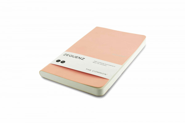 Zequenz The Common Notizbuch A5 Rose