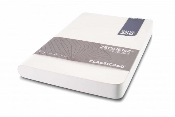 Zequenz Signature Notizbuch 360 Weiß A5