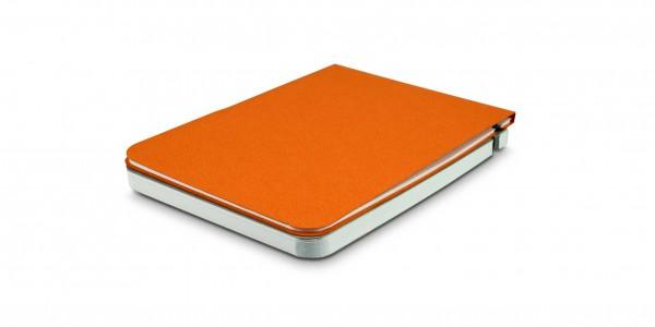 Off Lines Zettelwirt Notizblock 9x13 cm Orange