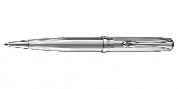 Diplomat Excellence A2 Kugelschreiber Guillochiert Chrom