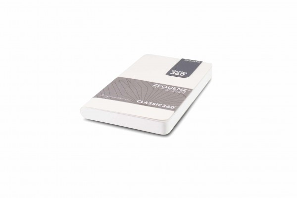 Zequenz Signature Notizbuch 360 Weiß A6 Mini