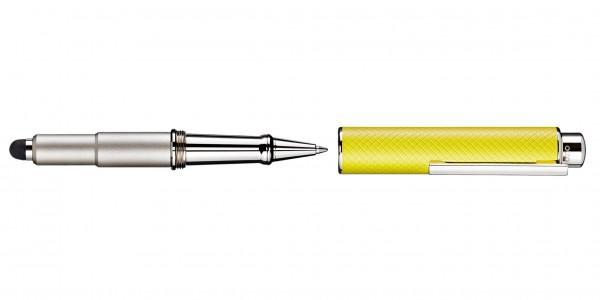 Otto Hutt Entwurf 05 Kugelschreiber Karo Gelb