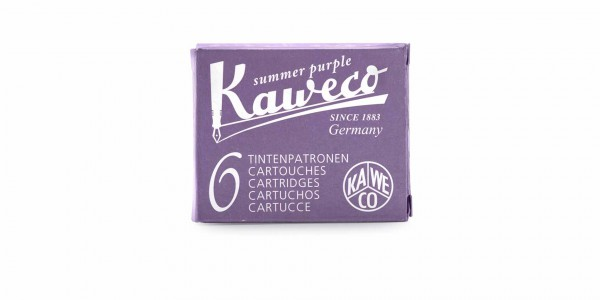 Kaweco Tintenpatronen Sommer Lila