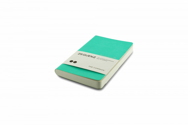 Zequenz The Common Notizbuch A6- Mint