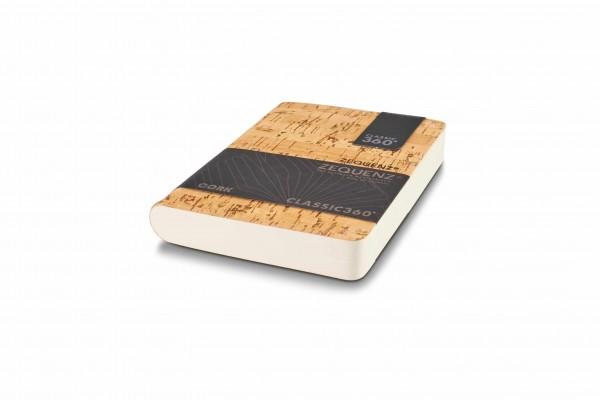 Zequenz Cork Notizbuch 360 Natural B A6
