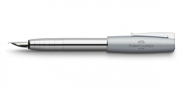 Faber-Castell Loom Metallic Füllfederhalter Hellblau