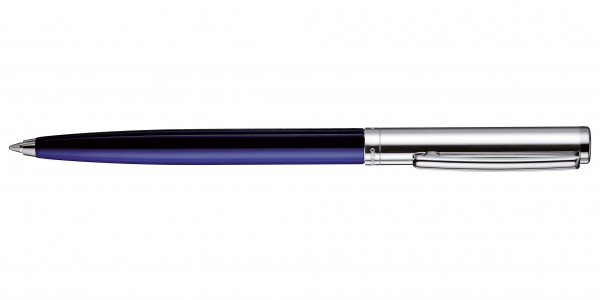 Otto Hutt Entwurf 01 Kugelschreiber Glatt Blau