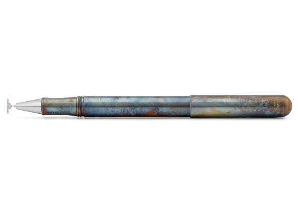 Kaweco LILIPUT CONNECT Disc Stylus Fireblue Silber Spitze
