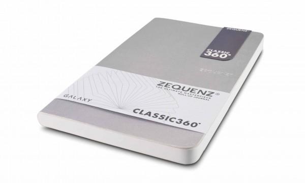 Zequenz Galaxy Notizbuch 360 Silber A5