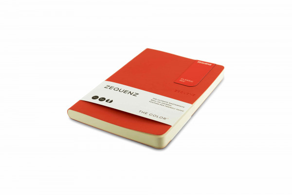 Zequenz The Color Notizbuch B6 Grenadier Orange