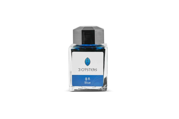 3Oysters Delicious INK Tintenglas BLUE (Meeresblau) 38ml