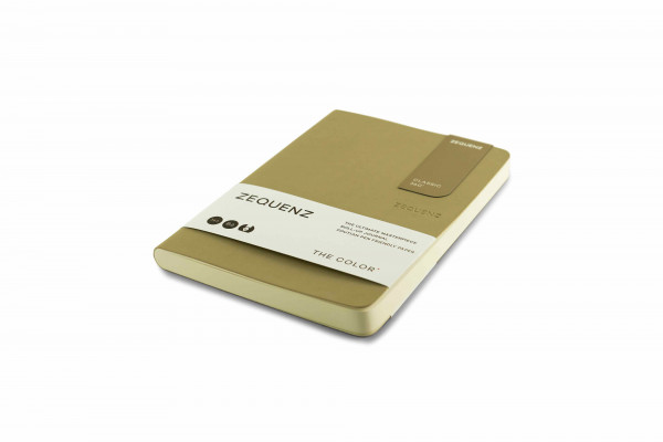Zequenz The Color Notizbuch B6 Taupe Braun