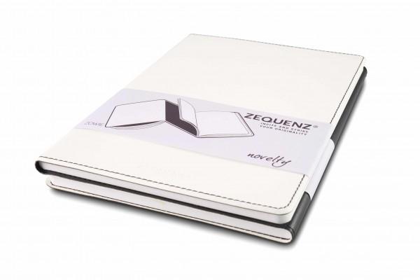 Zequenz Duo Notizbuch Schwarz Weiß A5