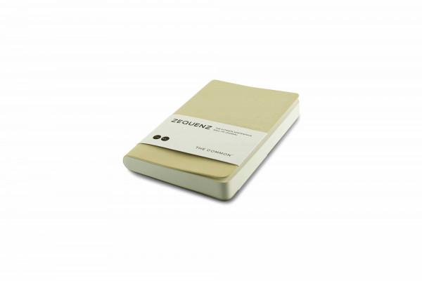 Zequenz The Common Notizbuch A6- Perle