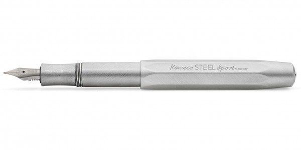 Kaweco STEEL Sport fountain pen nib steel