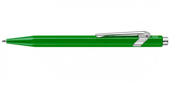 Caran d'Ache 849 Pop Line Kugelschreiber Metallic Grün mit Etui