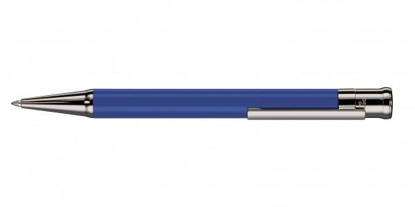 Otto Hutt Entwurf 04 Kugelschreiber Kornblumenblau glänzend