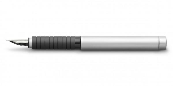 Faber-Castell Fountain pen Essentio metal matt
