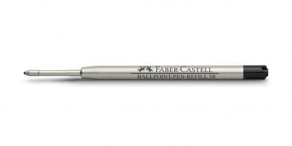 Faber-Castell Kugelschreiber Leichtlaufmine Schwarz XB