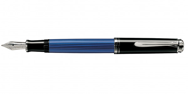 Pelikan Souverän 405 piston fountain pen black blue